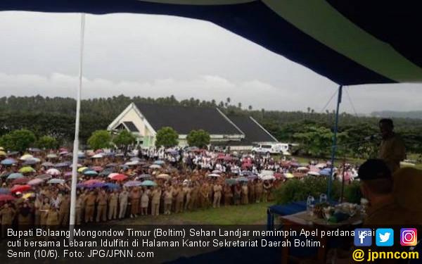 Bupati Pimpin Apel Perdana Usai Lebaran, PNS yang Bolos Bersiaplah Terima Sanksi - JPNN.com