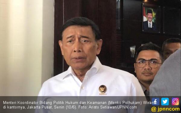 Jelang Putusan MK, Wiranto: Kalau Bikin Kerusuhan, Pasti Kami Tangkap - JPNN.com