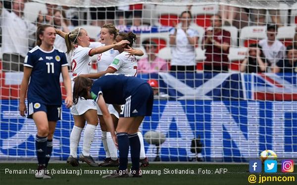 Inggris Mulus di Laga Pertama Grup D Piala Dunia Wanita 2019 - JPNN.com