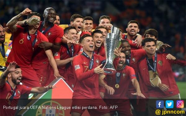 Portugal jadi Negara Pertama Juara UEFA Nations League - JPNN.com