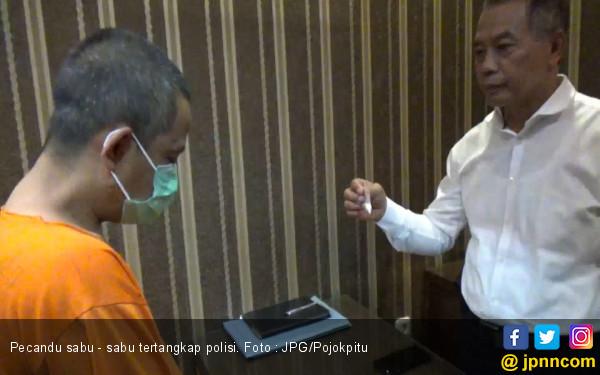 Soleh Baru Beli Narkoba, Belum Sempat 'Ngefly' Sudah Dijemput Polisi - JPNN.com