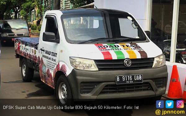 DFSK Super Cab Mulai Uji Coba Solar B30 Sejauh 50 Ribu Kilometer - JPNN.com
