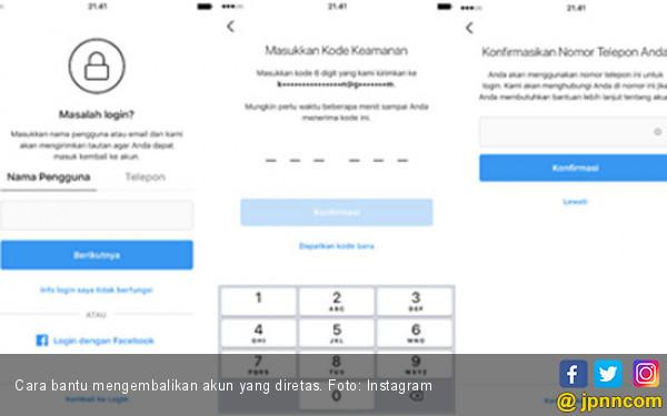 Instagram Luncurkan Fitur untuk Bantu Pulihkan Akun yang Diretas - JPNN.com