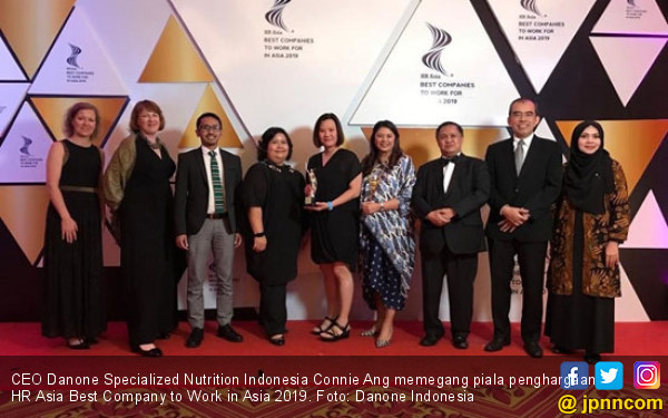 Danone Indonesia Sabet Best Companies to Work for in Asia 2019 - JPNN.com