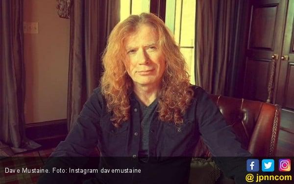 Dave Mustaine 'Megadeth' Menderita Kanker Tenggorokan - JPNN.com