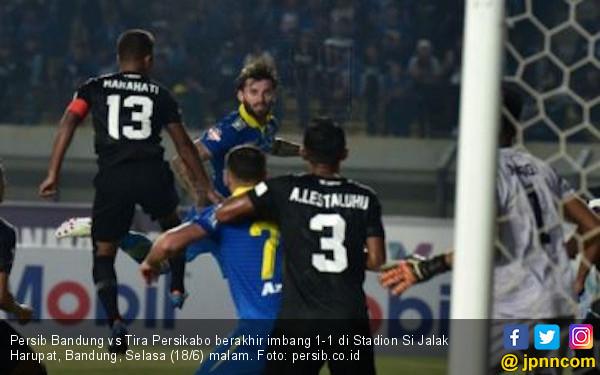 Gol Bojan Malisic Selamatkan Muka Persib Bandung - JPNN.com