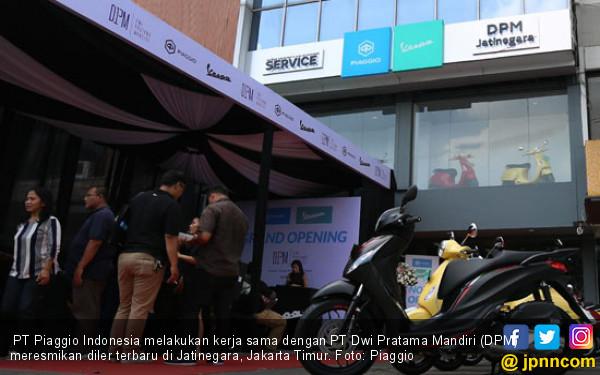 Manjakan Pelanggan Setia, Piaggio-Vespa Buka Diler 3S di Jatinegara - JPNN.com