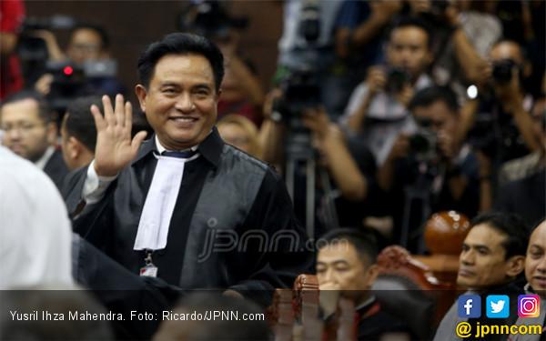 Yusril Kutip Tiga Ayat Alquran Untuk Menjawab Gugatan Prabowo - Sandi - JPNN.com