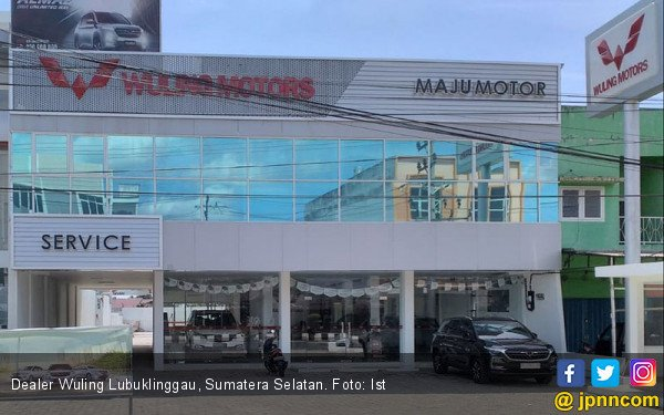 Wuling Resmikan Dealer Kedua di Sumatera Selatan - JPNN.com
