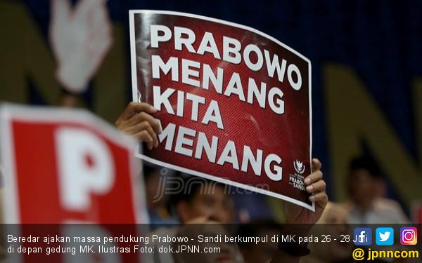 22 Juta Massa Bakal Kumpul di MK Sambut Kemenangan Prabowo – Sandi? - JPNN.com