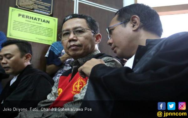 Joko Driyono Menangis Tersedu-Sedu di Persidangan - JPNN.com