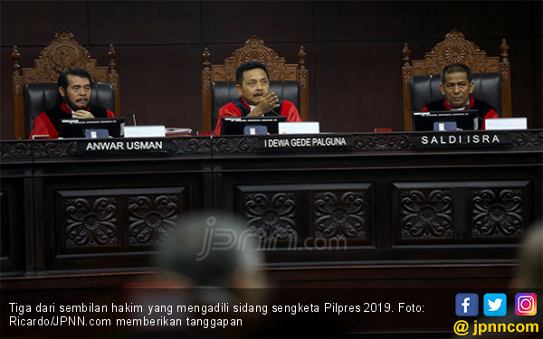 Sidang Sengketa Pilpres Hari ini : Tim Hukum Kubu Jokowi Hadirkan Saksi - saksi Penting - JPNN.com