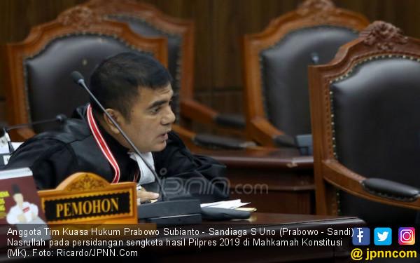 Nasrullah Sebut Ahli dari Kubu Jokowi Kuliti Permohonan Prabowo - Sandi - JPNN.com