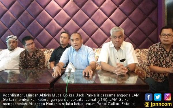 Jaringan Aktivis Muda Golkar Apresiasi Kepemimpinan Airlangga Hartarto - JPNN.com