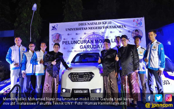 2025, Indonesia Produksi Massal Kendaraan Listrik - JPNN.com