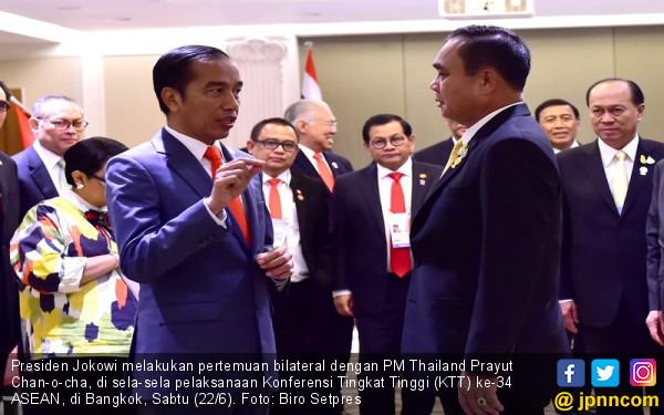Jokowi Gelar Pertemuan Bilateral dengan PM Thailand, 3 Isu Ini yang Dibicarakan - JPNN.com