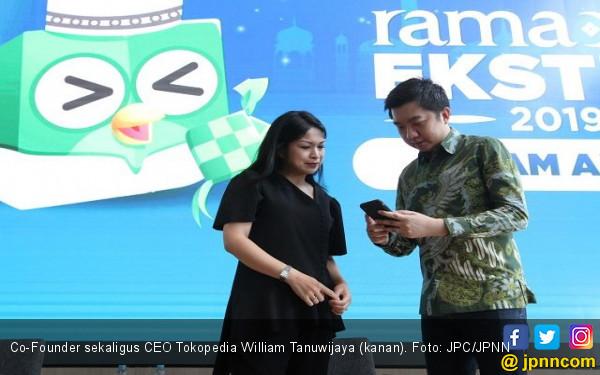 Transaksi Tokopedia Selama Ramadan Ekstra Tembus Rp 18,5 Triliun - JPNN.com