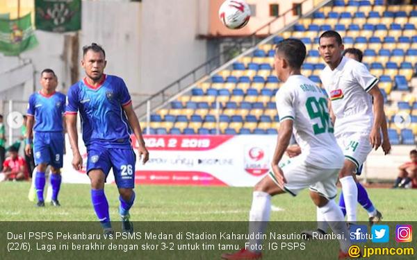 PSMS Medan Sukses Raih Poin Penuh di Markas PSPS Pekanbaru - JPNN.com
