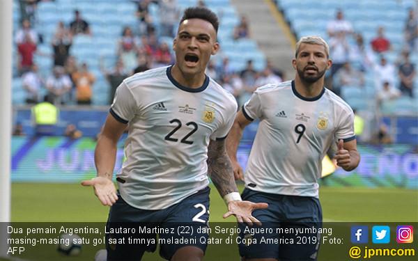 Kalahkan Juara Asia, Argentina Tembus Perempat Final Copa America 2019 - JPNN.com