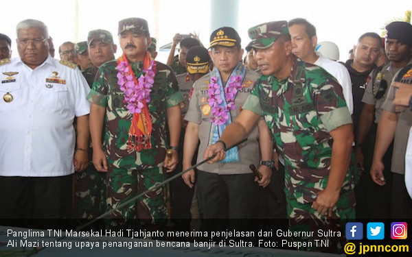 SIMAK! Pesan Panglima TNI kepada Tim SAR di Sulawesi Tenggara - JPNN.com