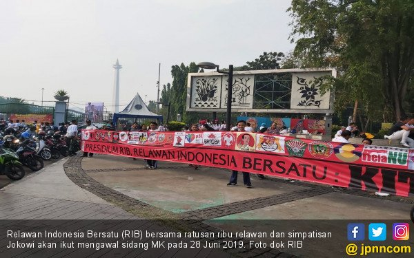 Kawal Hasil Sidang, Relawan Indonesia Bersatu Akan Gelar Aksi di Depan MK - JPNN.com