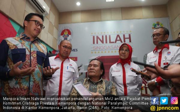 Menpora Berharap NPC Sumbangkan Hasil Terbaik di ASEAN Para Games 2020 - JPNN.com