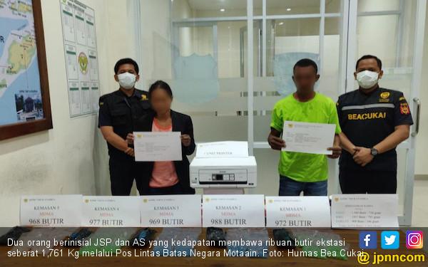 Bea Cukai Atambua Menggagalkan Penyelundupan 4.874 Butir Ekstasi - JPNN.com