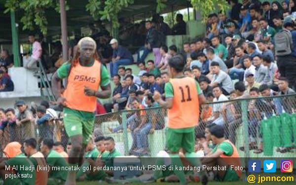 Lawan Persita Tangerang, PSMS Medan Terancam Tanpa Al Hadji - JPNN.com