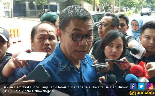 Di Depan Rumah Prabowo, Hinca: Tidak Ada Lagi Capres, Adanya Presiden Terpilih - JPNN.com