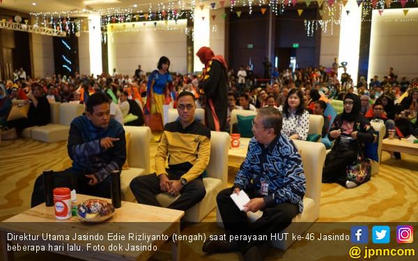 Rayakan HUT ke-46, Jasindo Luncurkan Program Diet Sampah Plastik - JPNN.com