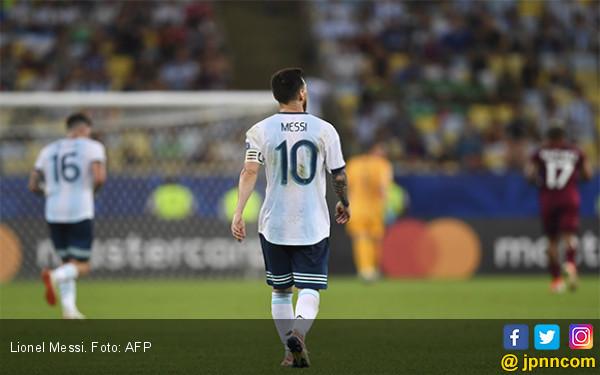 Argentina vs Chile: Bukan Trofi, Hanya Gengsi - JPNN.com