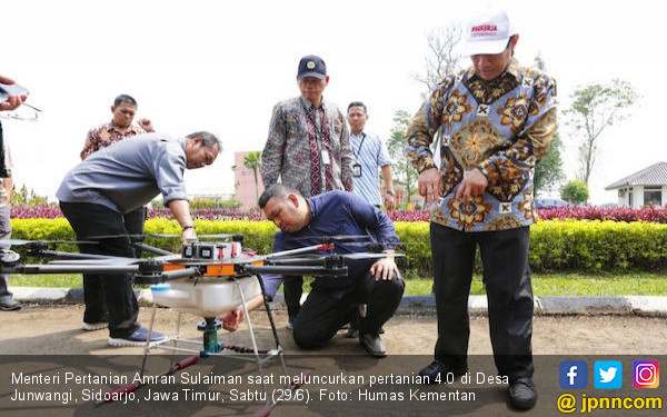 Kementan Dorong Revolusi Industri 4.0 di Sektor Pertanian - JPNN.com