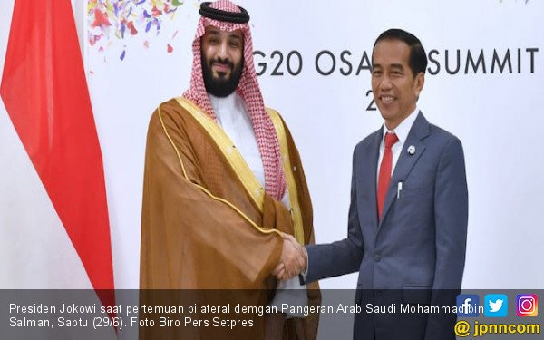 Bertemu Pangeran Saudi, Jokowi Bahas Kerja Sama Pertamina-Aramco - JPNN.com