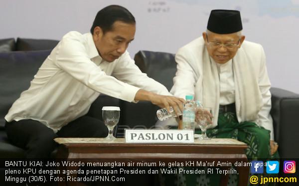 Jokowi Bakal Dilantik untuk Periode Kedua, Kiai Ma'ruf Kebagian Bikin Acara Doa