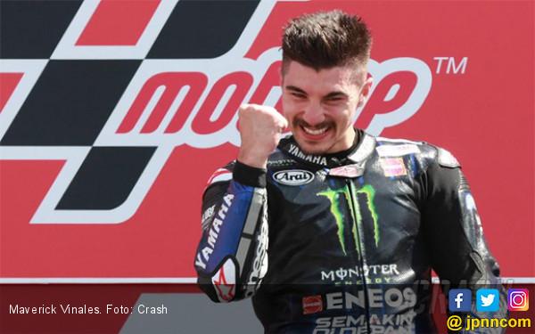 Podium di MotoGP Malaysia, Vinales Bayar Tunai Kegagalannya di Australia - JPNN.com