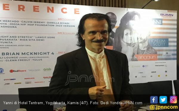 Yanni Antusias Tampil di Candi Prambanan - JPNN.com