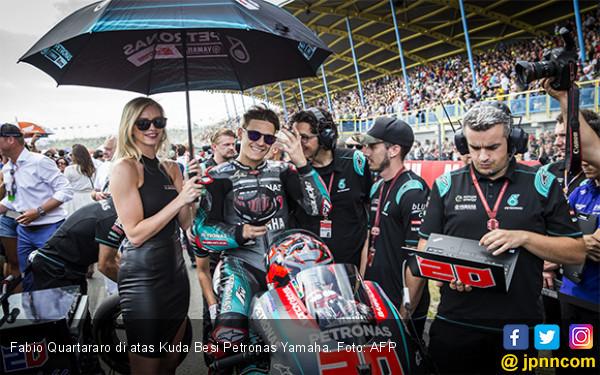 Jangan Kaget! Quartararo Paling Kencang di FP1 MotoGP Jerman, Marquez Kedua, Rossi Ketiga - JPNN.com