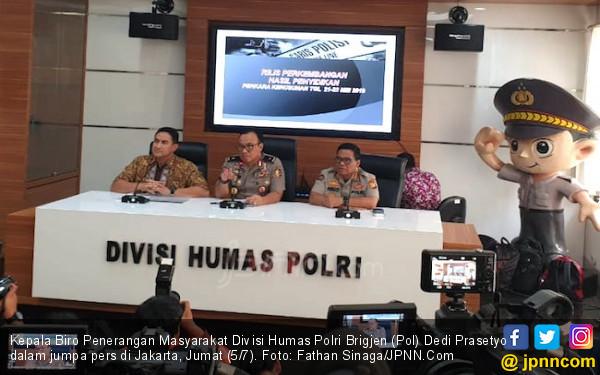 Temuan Polri soal Kelompok di Balik Rusuh 21-22 Mei - JPNN.com