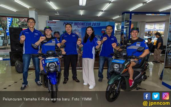 Yamaha X-Ride Warna Baru, Harga Rp 18 Jutaan - JPNN.com