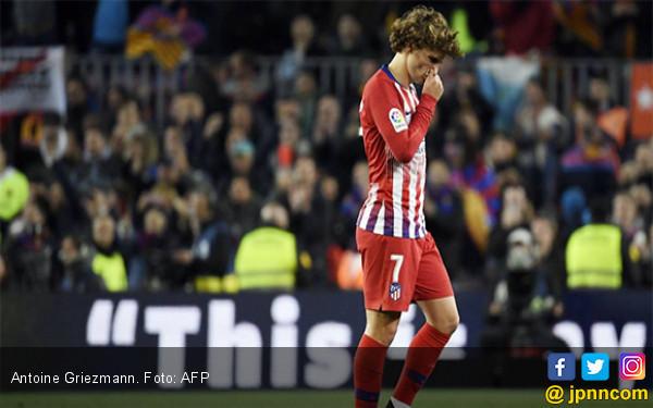 Marah sama Barcelona, Atletico Madrid Minta Antoine Griezmann Kembali ke Klub - JPNN.com