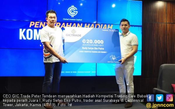 GIC - Trade Sediakan Hadiah Rp7 Miliar Dalam Trading Competition Live 2019 - JPNN.com