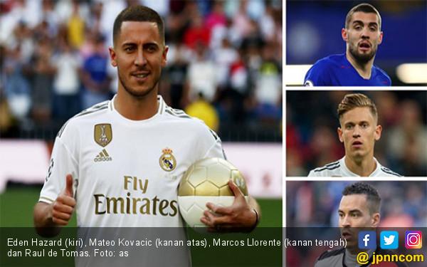 Llorente + Kovacic + Tomas = Hazard - JPNN.com