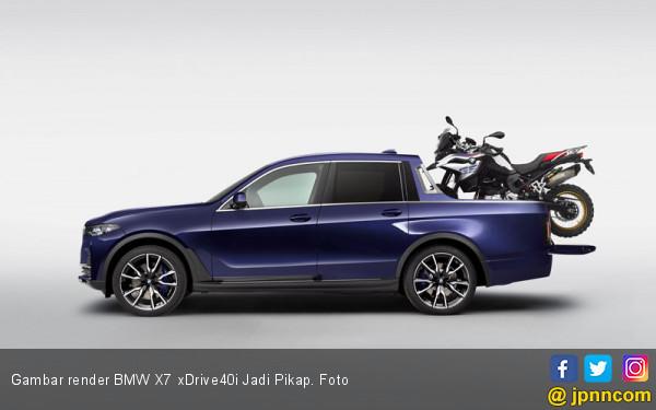 Siswa Magang Sulap BMW X7 xDrive40i Jadi Pikap - JPNN.com