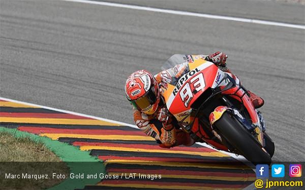 Marc Marquez Catat Pole Position ke-7 di MotoGP Jerman Plus Rekor Lap Baru - JPNN.com