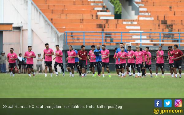 Borneo FC Memble, Stadion Segiri Jadi Surga Tim Tamu - JPNN.com