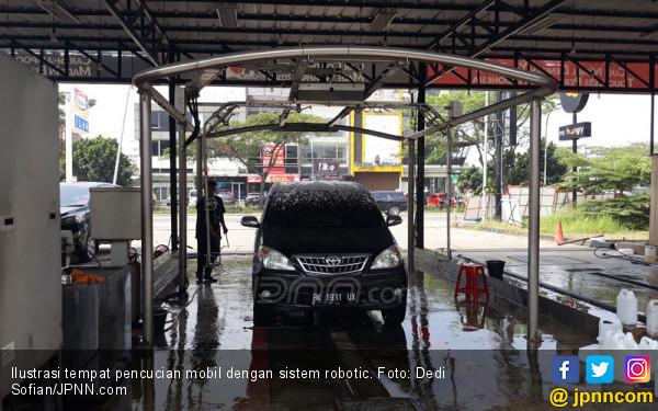 Mencuci Mobil di Sistem Robotic Lebih Hemat Waktu, Tetapi... - JPNN.com