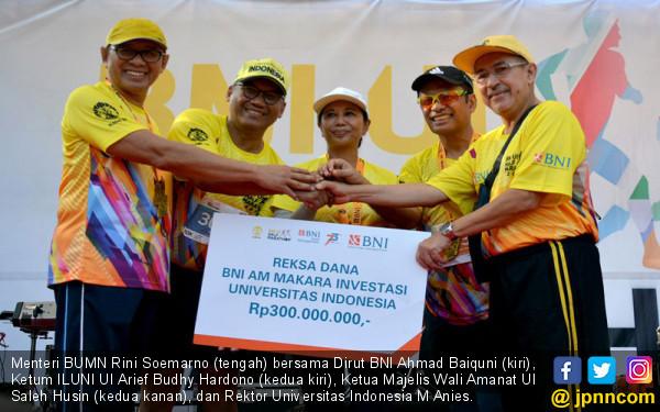 BNI UI Half Marathon 2019 Himpun Dana untuk Bantu Mahasiswa Tetap Kuliah - JPNN.com