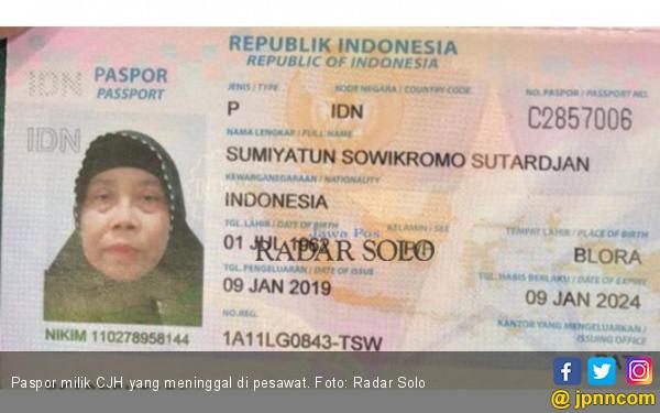 Seorang Calon Haji Asal Sukoharjo Meninggal di Pesawat - JPNN.com