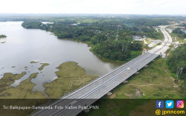 Mengintip Progres Pembangunan Tol Pertama di Kalimantan - JPNN.com