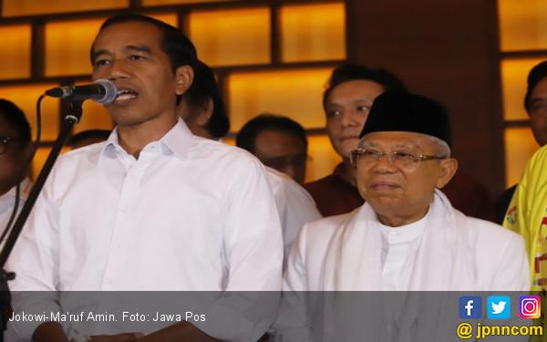 Sosok Jokowi-Ma'ruf Amin Signifikan Memengaruhi Keterpilihan Gibran, Bobby, dan Siti - JPNN.com